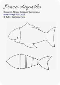 Lavoretti con i bambini tutorial pesce d aprile alessia for Immagini da colorare pesci