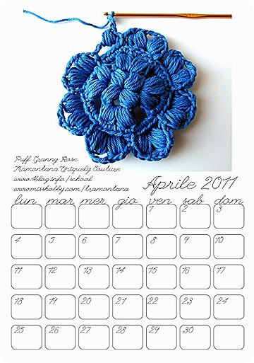 Aprile 2011, ecco il nuovo calendario di TUC