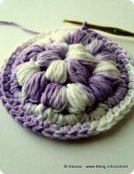 Puff Granny Circle, ancora crochet morbido