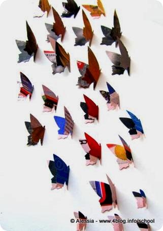 Cascata di farfalle tra Pasqua e Giorno della Terra