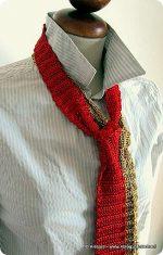 Arriva il Pattern per le cravatte a crochet