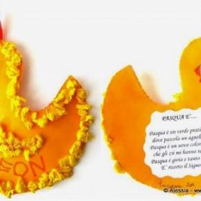 Lavoretti con i bambini: il pulcino di Pasqua