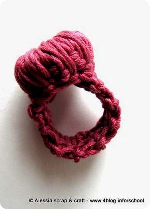 Work in progress a crochet