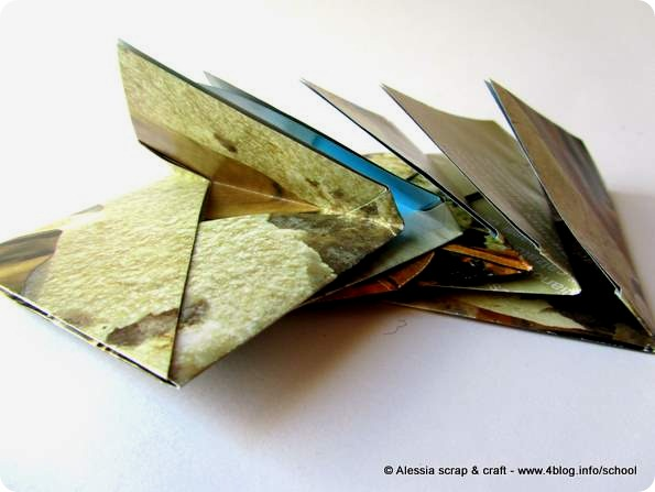 Un set da 5 bustine in carta riciclata