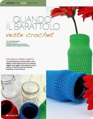 Le mie Milleidee di giugno: crochet + crochet