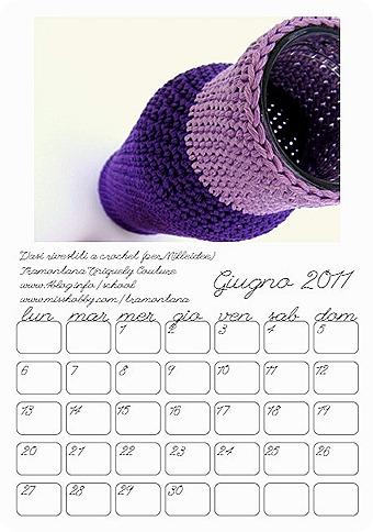 Calendario giugno 2011