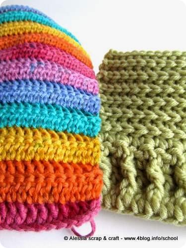 Lana e cotone, pattern e lavori in corso…