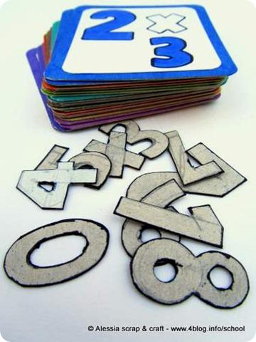 Imparare le tabelline giocando: tabellina del 3 da scaricare e stampare