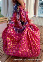 Una borsa furoshiki per la spiaggia (e non solo)