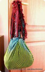 Furoshiki: altra borsa fai da te per il mare