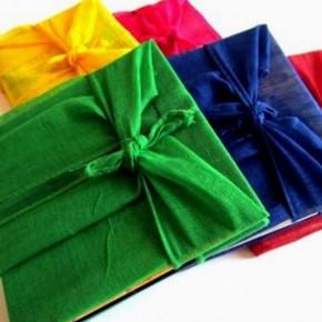 Furoshiki non solo borse: rivestire libri e agende