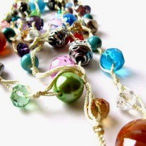Rainbow: la nuova collana con perle e murrine