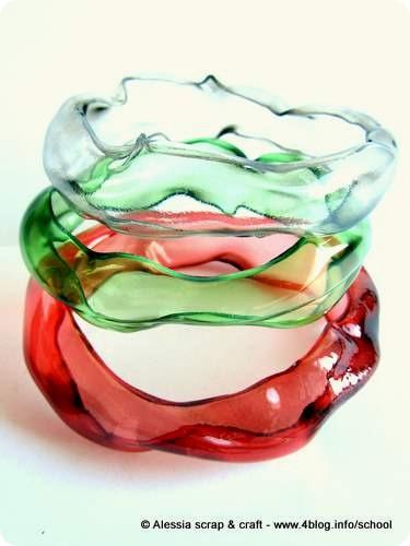 Gelly Bangles, set #2 dei braccialetti di plastica