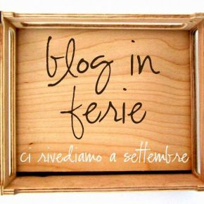 Nuovo cartello per i blog in ferie