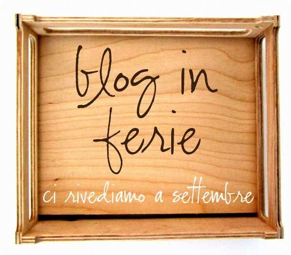 Cartello Per Blog Chiuso Per Ferie Alessia Scrap Craft