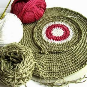 Work in progress: dischi a crochet…