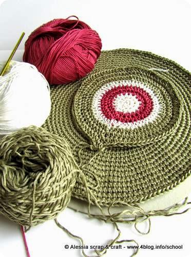 Work in progress: dischi a crochet…
