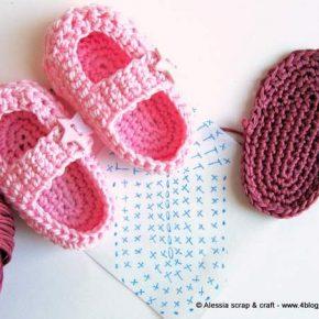 """Costruendo le scarpine a crochet """"Little Star"""""""