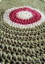 I lavori in corso continuano con dischi a crochet