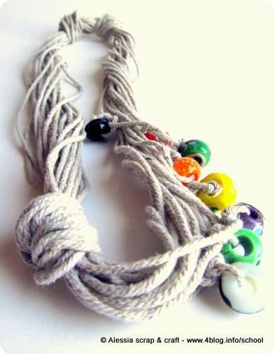 I-cord 2: belle le collane con la corda!