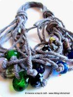 I-cord 4: corda grossa e murrine in vetro