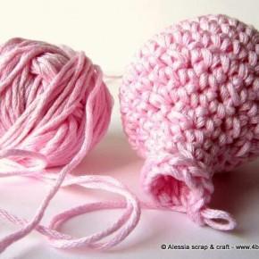 Lavori in corso: rosa confetto e amigurumi