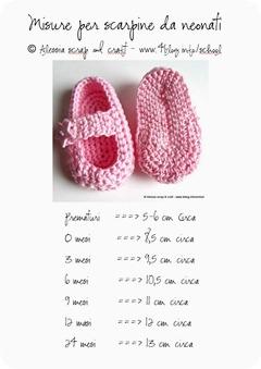 Scarpine per neonati: trovare la misura giusta