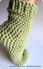 Calzettoni a crochet in preparazione il pattern per for Cerco regali gratis