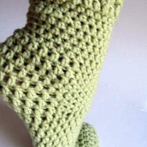 I calzettoni a crochet sono pronti!