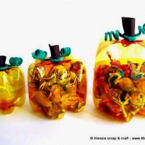 Pronte le zucche di Halloween di plastica riciclata