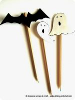 Pencil Toppers, segnamatita di Halloween