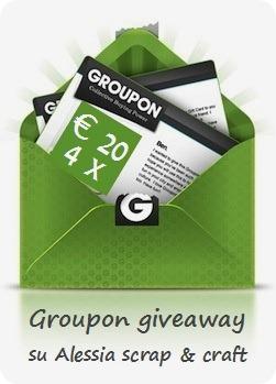 Reminder: –6 per il gveaway di Groupon