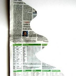 Tutorial: l'albero 3D di carta di giornale riciclata