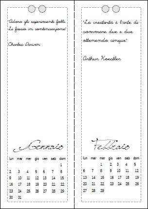 Calendario 2012 - clicca e scarica