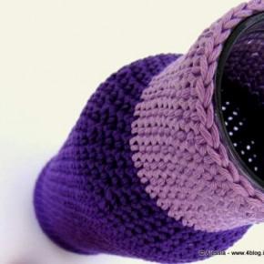 Vasi vestiti a crochet, il pattern