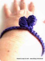 Braccialettini dell'amicizia a crochet