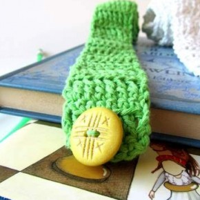 Segnalibri a cinghia a crochet