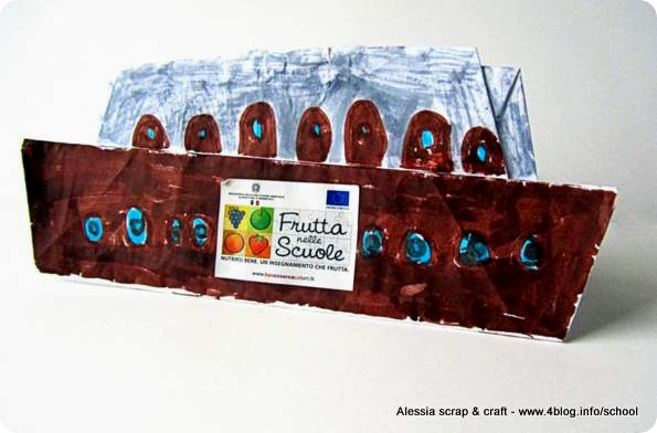 Lavoretti: la nave di carta che porta la Frutta nelle Scuole