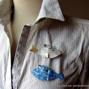 Ancora un'idea di carta per il pesce d'aprile…