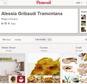 La nuova pagina personale di Pinterest vi piace?