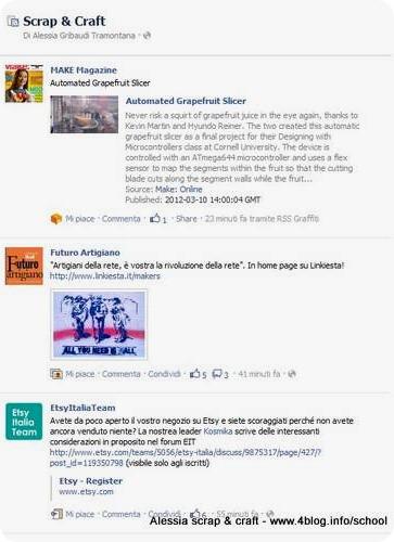 Su Facebook arrivano le liste di interessi