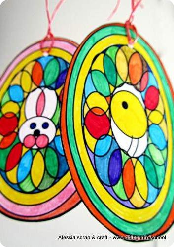 Lavoretti Di Pasqua Uova Mandala Da Colorare Alessia Scrap Craft