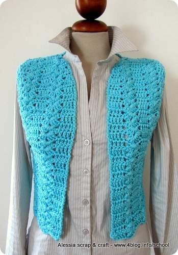 Pronto Il Gilet Primaverileestivo Fatto A Crochet Alessia Scrap