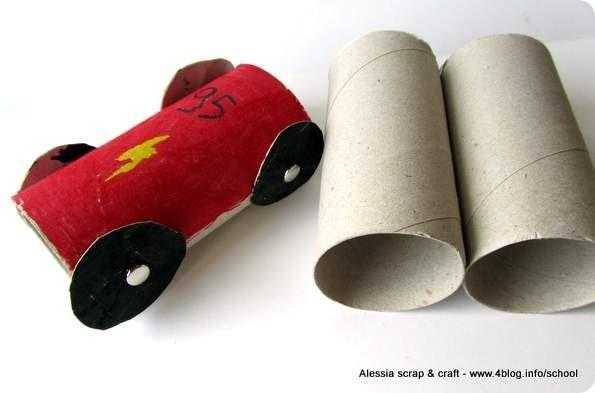 Top Macchinine di rotoli di cartone? - Alessia, scrap & craft  GG24