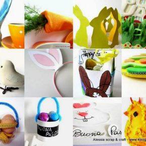 Tutte le decorazioni di Pasqua di Alessia scrap & craft