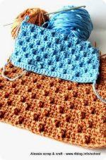 Punto Pois a crochet e work in progress