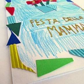 Last minute: biglietto mosaico per la festa della mamma