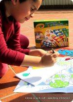 Sponsored Post: set Fantasia di Stencils Crayola