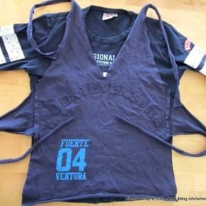 Scuola di Moda fai da te: fare un top con una vecchia T-shirt