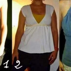Riciclare le magliette: 3 idee per bluse e top femminili